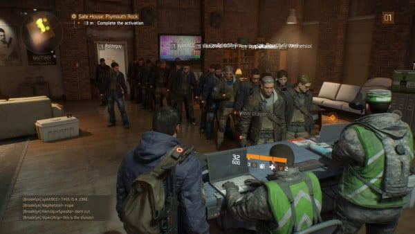 The Division queue simulator