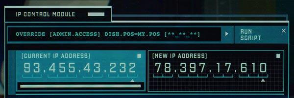 Iron Man 3 IP addresses