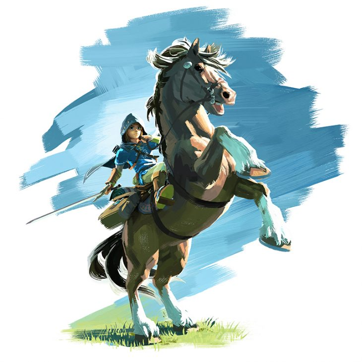 The Legend of Zelda Wii U artwork 01