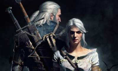 Geralt and Ciri - Into the Pixel