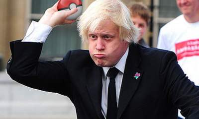 Boris Johnson Pokeball - Brexit Pokemon