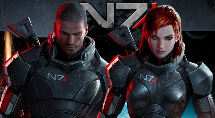 Male of Female Commander Shepard - There's no difference