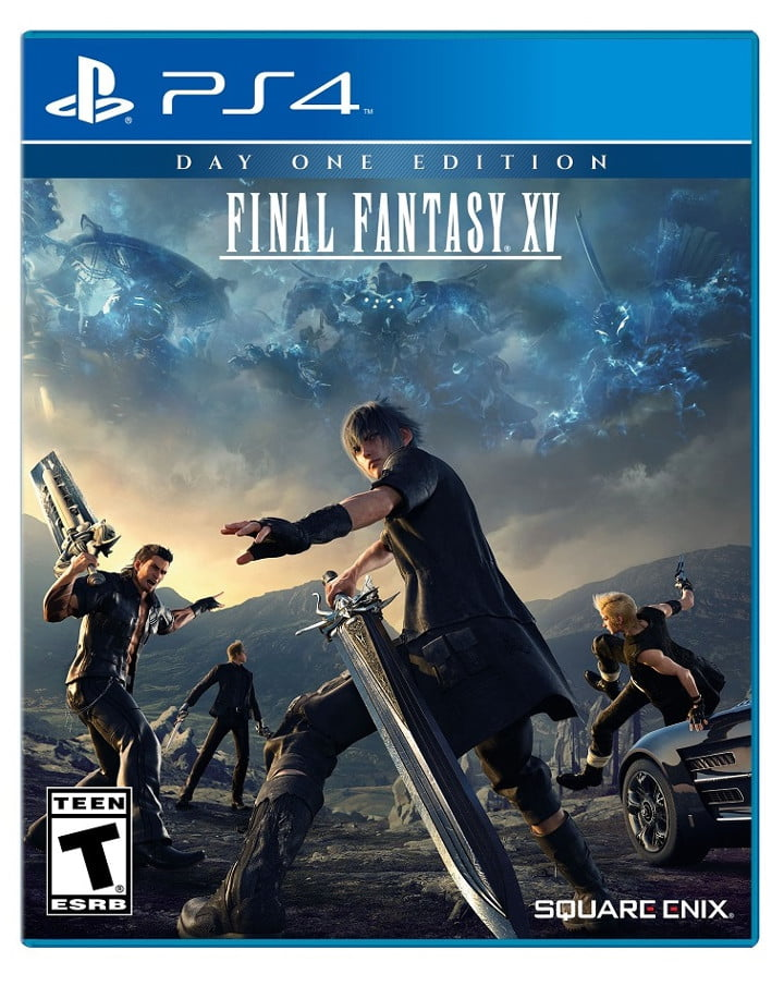 PS4 Final Fantasy XV box art