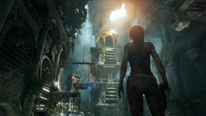 Rise of the Tomb Raider PS4 version