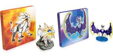 Pokemon Sun and Moon Steel Book