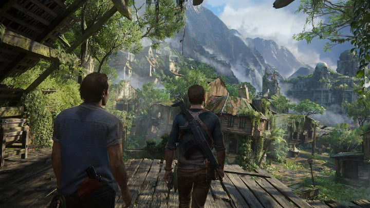 Uncharted 4 photo mode - boys are back in town