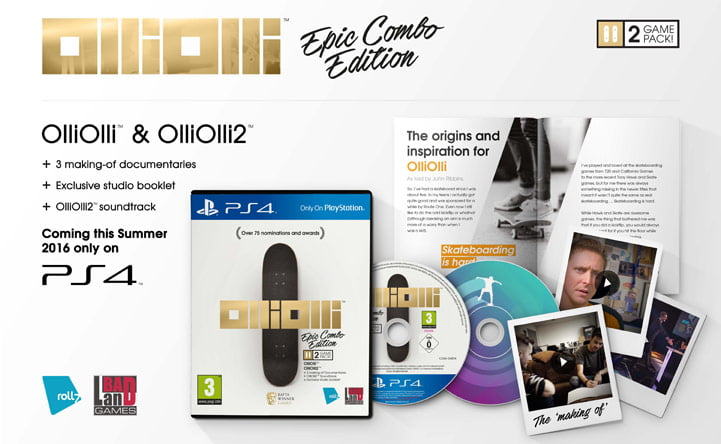 OlliOlli: Epic Combo Edition