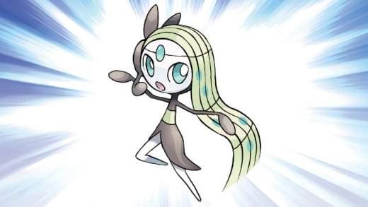 Mythical Pokémon Meloetta