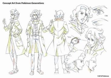 Pokemon Generations - Concept art 5