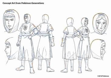 Pokemon Generations - Concept art 4