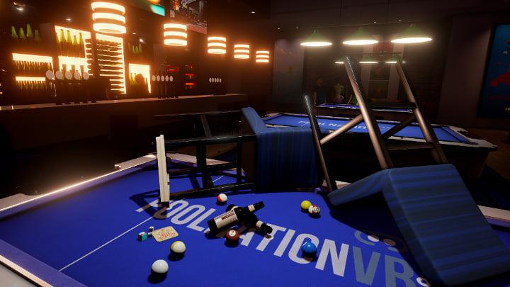 Pool Nation VR bar fight