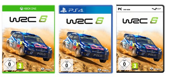Volkswagen Polo R WRC 6 cover art