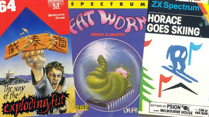 ZX Spectrum and Commodore 64 covers