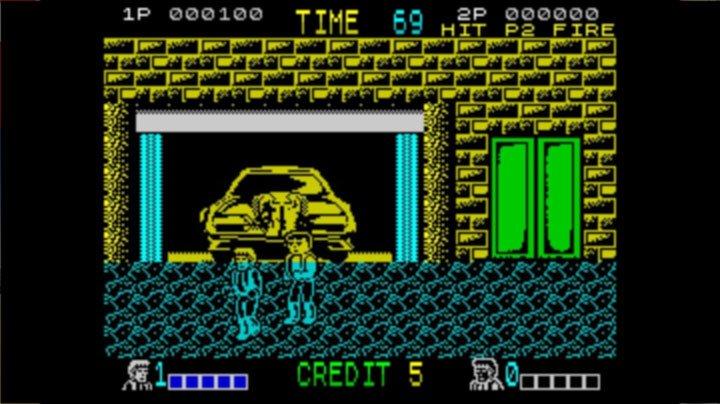 ZX Spectrum - Double Dragon