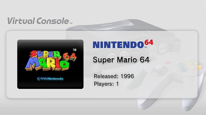 Nintendo Wii - Virtual Console