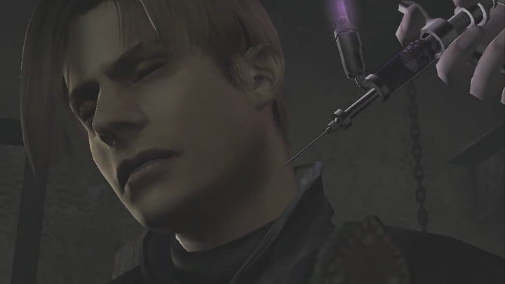 Resident Evil 4 Leon infected