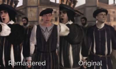 The Ezio Collection - freaky NPC