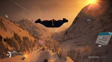 Steep wingsuit