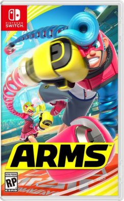 Nintendo Switch - ARMS box art