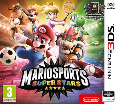 Mario Sports Superstars - Cover art