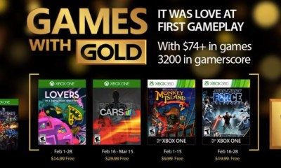 Xbox Games with Gold - February 2017
