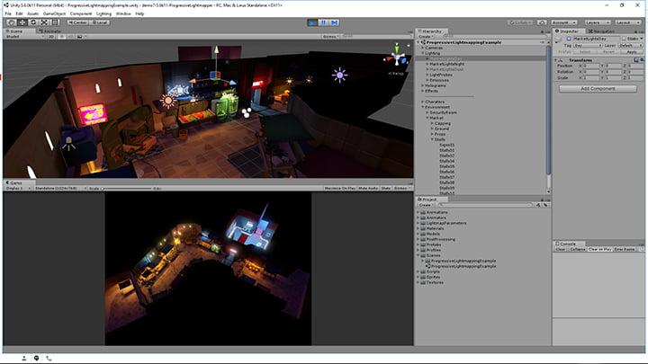 Unity - Progressive Lightmapper