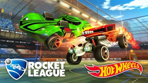 Rocket League Hot Wheels DLC