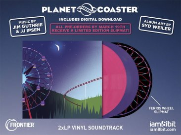 Planet Coaster - iam8bit Vinyl Soundtrack
