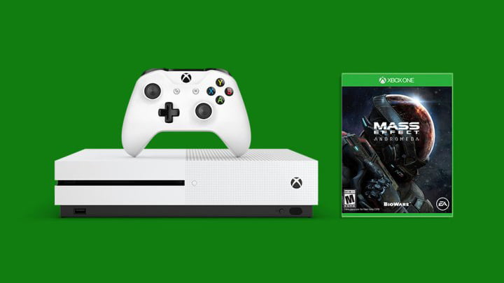 Xbox One S - Mass Effect Andromeda