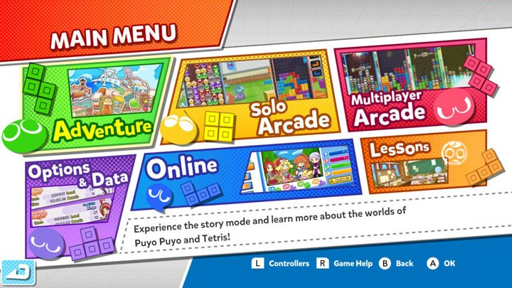 Puyo Puyo Tetris - Screenshot