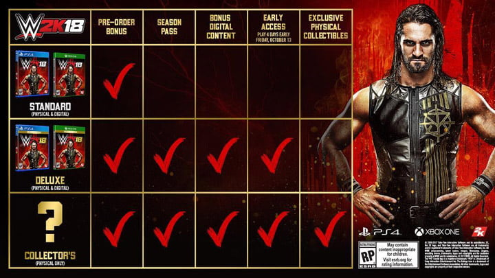 WWE 2K18 - Collector's Edition