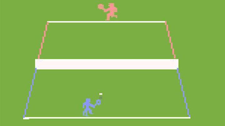 Tennis (1981, Atari 2600)