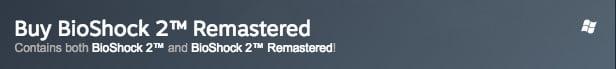 BioShock 2 Remastered Steam listing