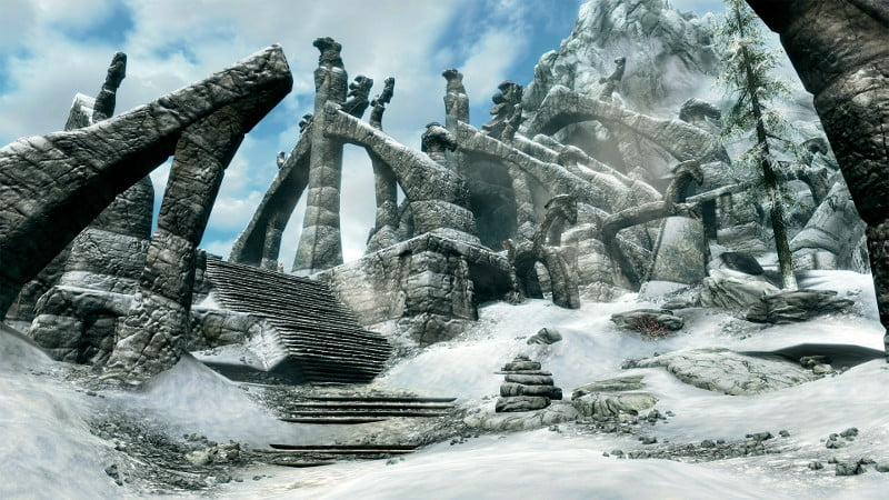There's an official Skyrim Survival Mode in the works