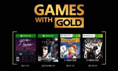 Xbox Games Gold - October 2017