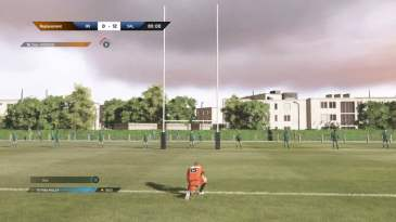 Rugby 18 place kick