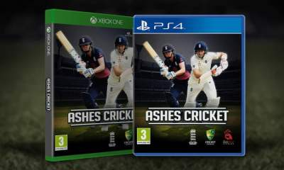 Ashes Cricket box art