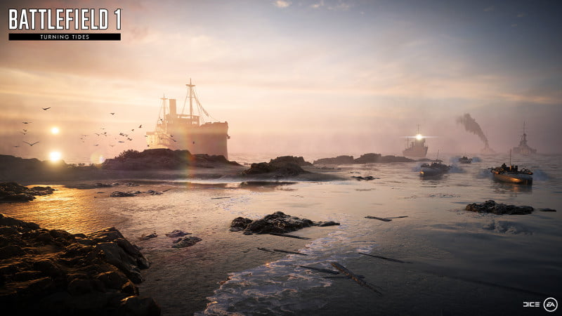 'Battlefield 1' (ALL) Turning Tides Expansion Dated - Screens & Trailer