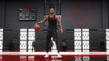 NBA Live 18 Star Wars dark jersey
