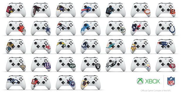 NFL Xbox Controller