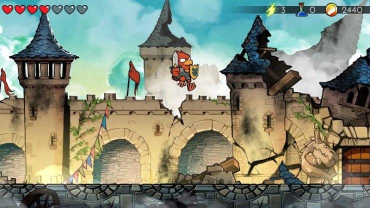 Wonder Boy: The Dragon's Trap - Hawkman