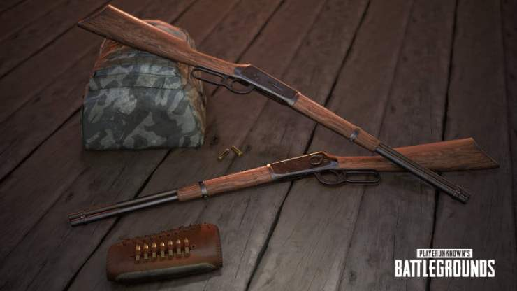 PUBG winchester rifle