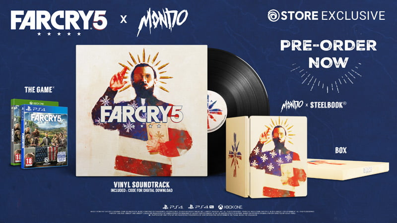 Mondo Limited Edition announced for Far Cry 5