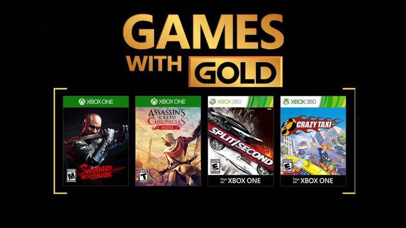 Xbox 1 Games 2018 : Xbox free games with gold for february confirmed