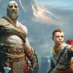 God of War Kratos Atreus