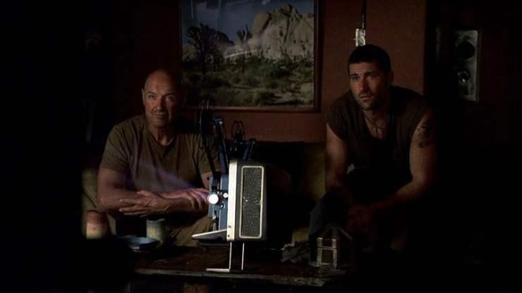 Lost -Jack and Locke