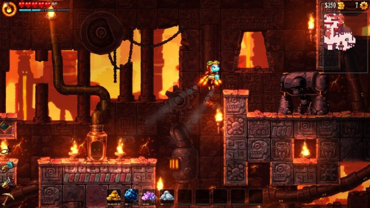 SteamWorld Dig 2 screenshot