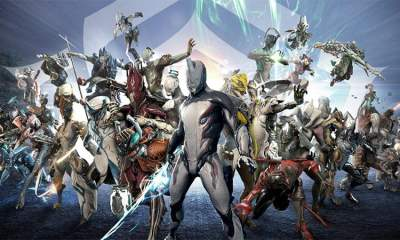 Warframe art