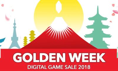 Square Enix Golden Week sale