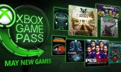 Xbox Game Pass May 2018
